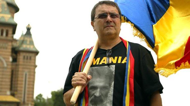 Le poète roumain Laurian Stanchescu à Timisoara  (ADRIAN PICLISAN)