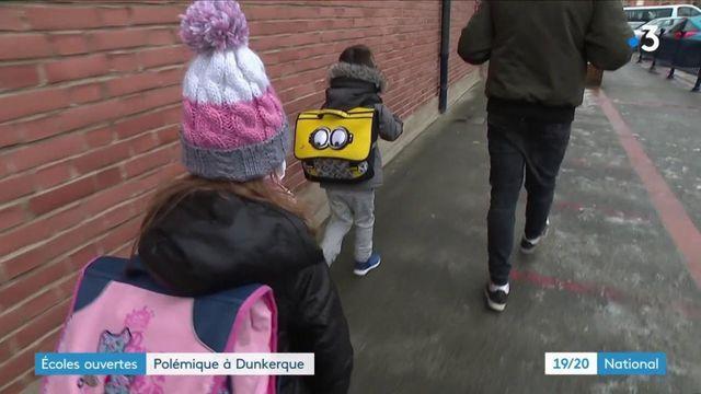 Covid-19 : malgré la contestation des élus locaux, les écoles restent ouvertes à Dunkerque (Nord)