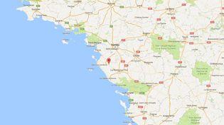 Le concert devait avoir lieu le 18 février 2017 à Saint-Christophe-du-Ligneron (Vendée). (GOOGLE MAPS)