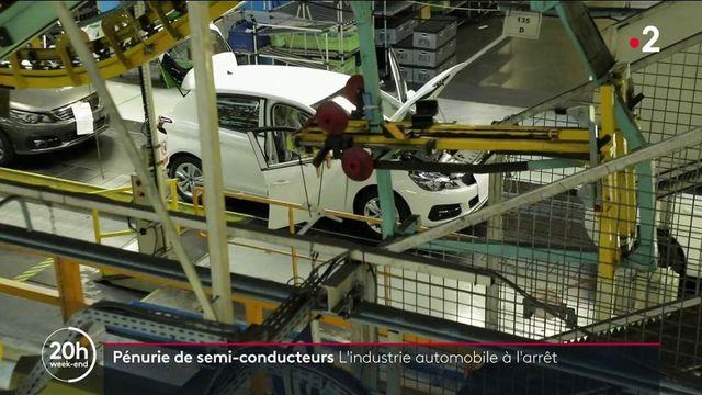 Des usines sont totalement à l'arrêt à cause du manque de matières premières. C'est le cas notamment dans le secteur automobile où à cause d'une pénurie de puces électroniques, certaines usines repoussent leur rentrée.