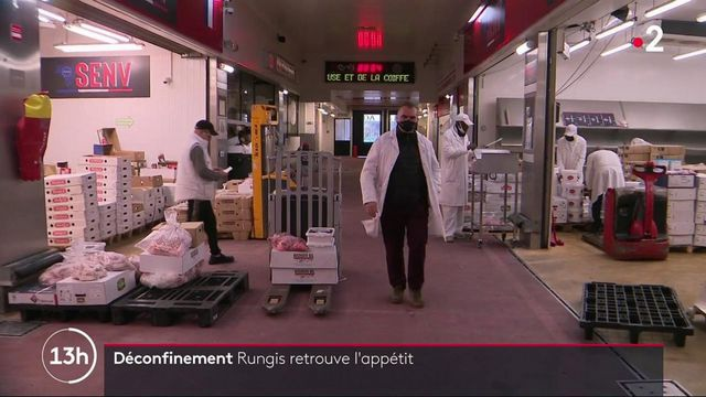 Déconfinement : le marché de Rungis s'anime à nouveau