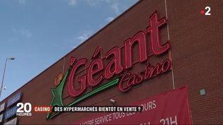 Certains supermarchés Casino vont fermer. (FRANCE 2)