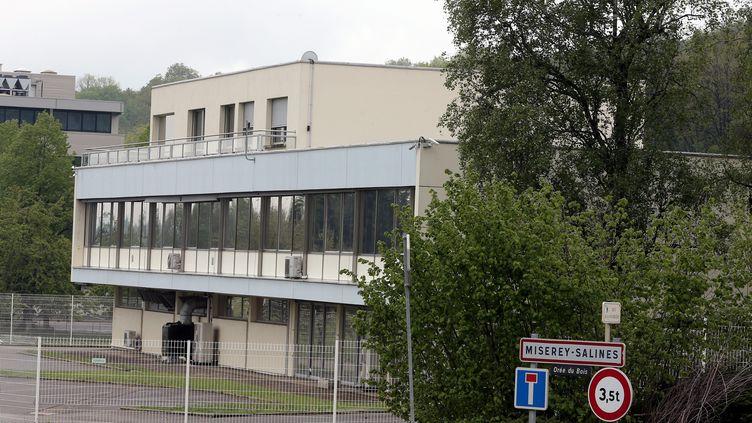 la société dejoaillerie Frank et Personà Châtillon-le-Duc (Doubs), le 3 mai 2019. (LUDOVIC LAUDE / MAXPPP)