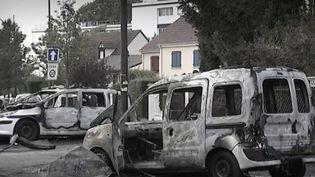 Procès des policiers brûlés à Viry-Châtillon. (FRANCEINFO)