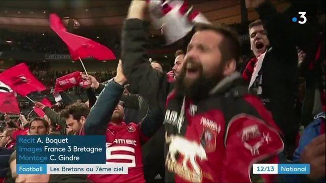 Coupe de France : le supporters du Stade Rennais au septième ciel après la victoire contre le PSG