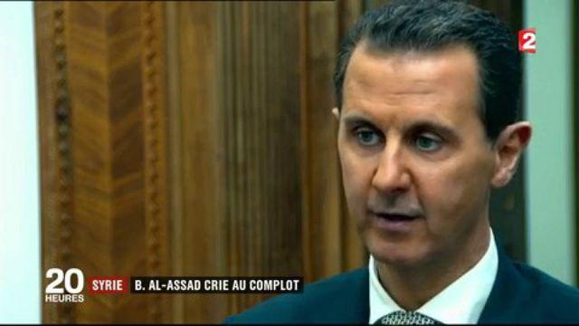 Attaque chimique en Syrie : Bachar al-Assad se défend