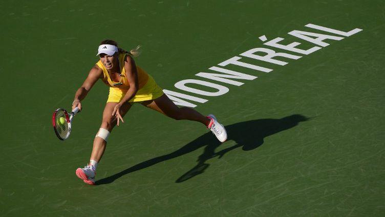 Petra Kvitova en finale à Montréal (ROBERT LABERGE / GETTY IMAGES NORTH AMERICA)