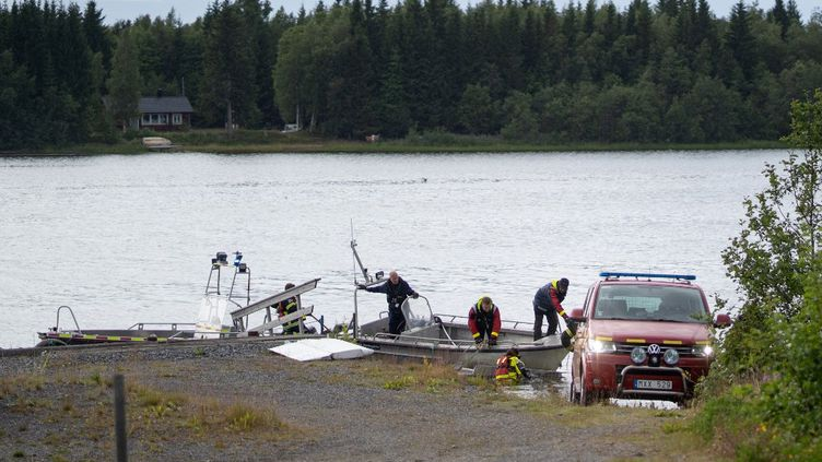 La vile d'Umeadans le nord de la Suède. (SAMUEL PETTERSON / TT NEWS AGENCY)