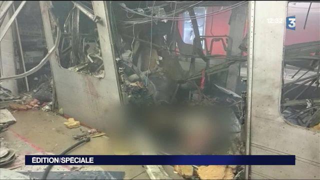 Attentats à Bruxelles : explosion dans le métro à Maelbeek