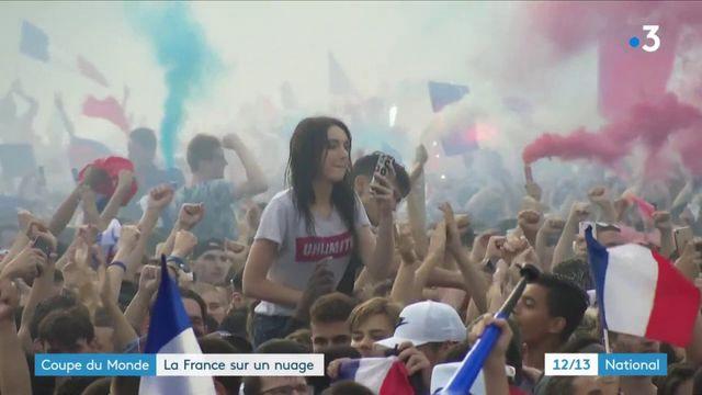 Coupe du monde 2018 : la France sur un nuage
