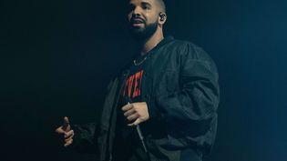 Le chanteur Drake à Austin aux Etats-Unis, le 20 juillet 2016. (SHUTTERSTOCK/SIPA / REX)