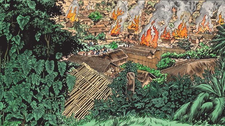 Extrait de la bande dessinée «Kivu» de Simon et Van Hamme (Le Lombard éditions). (Simon-Van Hamme / Le Lombard)