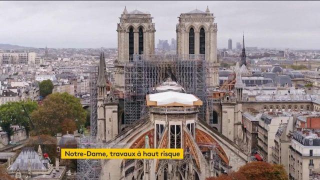 Notre-Dame de Paris : pas de messe de Noël, mais un chantier à haut risque