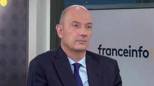 Roland Lescure invité de franceinfo le 22 octobre 2020. (FRANCEINFO / RADIOFRANCE)