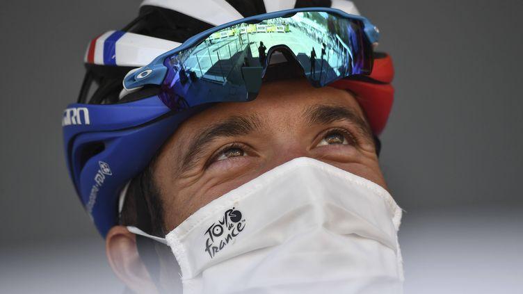 Thibaut Pinot, lors du Tour de France 2020.  (MARCO BETORELLO/AP/SIPA / SIPA)