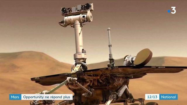 En mission sur Mars, le robot Opportunity déclaré mort pas la Nasa