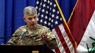 Steve Warren, le porte-parole du Pentagone, le 1er octobre 2015. (REUTERS)