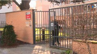 L'Etablissement d'hébergement pour personnes âgées d'Arcueil (Val-de-Marne), où une nonagénaire a été victime de coups, début février 2019. (FRANCE 3)