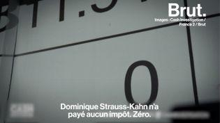 """VIDEO. """"Pandoras Papers"""" : comment Dominique Strauss-Kahn a-t-il économisé des millions d'euros d'impôts (BRUT)"""