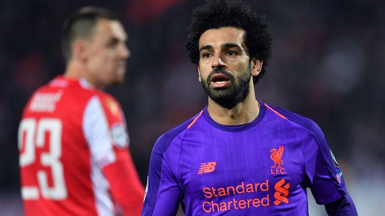 Mohamed Salah et les Reds battus à Belgrade (ANDREJ ISAKOVIC / AFP)