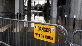 La Marne en crue à Joinville-le-Pont (Val-de-Marne), 26 Janvier 2018. (MAXPPP)