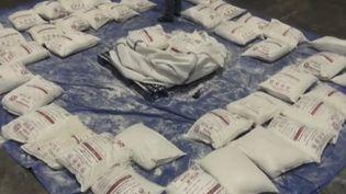 En Italie, une saisie d'héroïne record a eu lieu. (FRANCE 3)