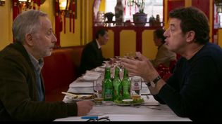 """Patrick Bruel et Fabrice Luchini sont les têtes d'affiche de la comédie """"Le meilleur reste à venir"""" avec en toile de fond le thème de la maladie. (France 3)"""