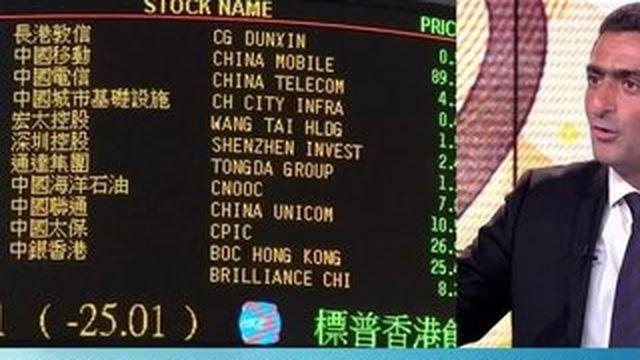 """Crise chinoise : pour Marc Touati, la zone euro est """"en danger"""""""