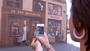 Le mur des Lyonnais dans le 1er arrondissement de Lyon  (France3 / Culturebox)