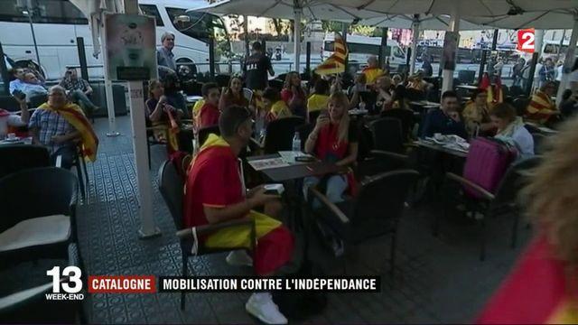 Barcelone : rassemblement massif contre l'indépendance de la Catalogne
