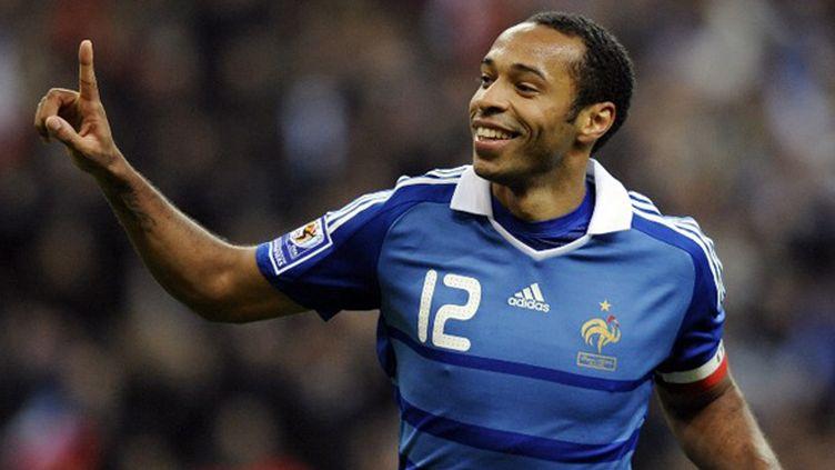 Thierry Henry est le meilleur buteur de l'histoire de l'Equipe de France (FRANCK FIFE / AFP)