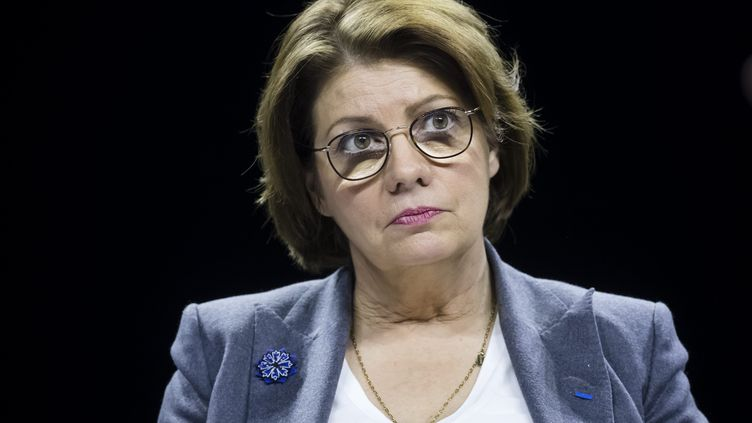Agnès Le Brun, maire de Morlaix et vice-présidente de l'Association des maires de France (AMF), le 20 novembre 2018 à Paris. (VINCENT ISORE / MAXPPP)