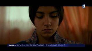 Une image de l'actrice principale du film Noces (France 2)
