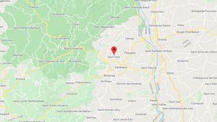 Saint-Clair (Ardèche).  (GOOGLE MAPS)