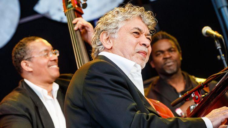Monty Alexander ici en concert à Hamburg en 2015.  (Schulz / DPA / Picture Alliance / MaxPPP)