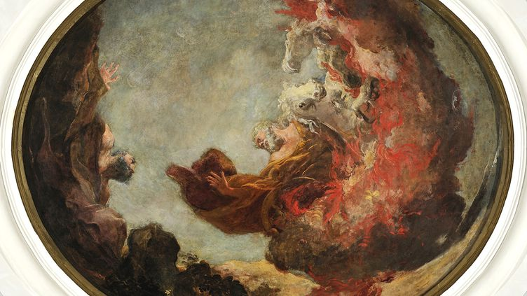 Le Prophète Elie parLouis Cretey. (ALAIN BASSET / MUSEE DES BEAUX ARTS DE LYON / CC BY-SA 4.0 VIA WIKIMEDIA COMMONS)