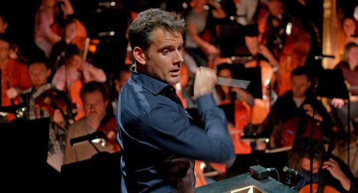 """Le directeur musical de l'Opéra de Paris, Philippe Jordan. Image tirée du film """"L'Opéra"""" de Jean-Stéphane Bron. (FRENETIC FILMS)"""