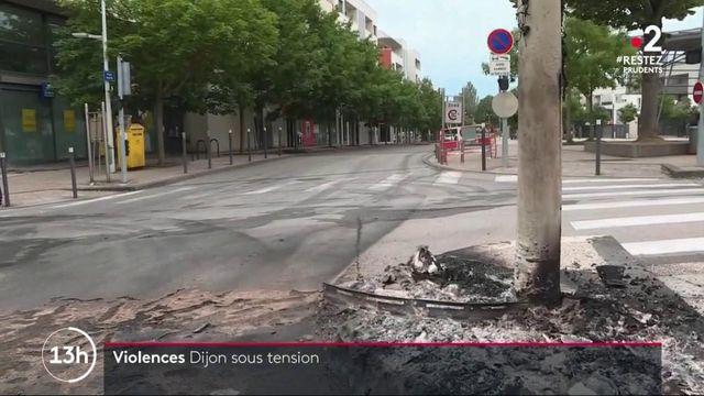 Dijon : le calme revient après des nuits de violence