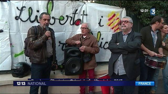 Catalogne : le côté français apporte son soutien