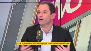 Benoît Hamon, membre fondateur de Génération-s. (RADIO FRANCE)