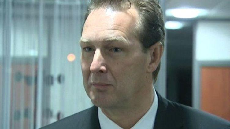 Le député UMP Lionel Tardy. ( FRANCE 3 ALPES)