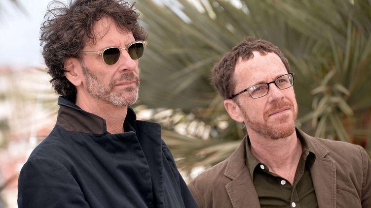 Les frères Joel et Ethan Cohen au festival de Cannes (Alpes-Maritimes), le 19 mai 2013. (REX / SIPA )