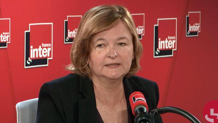 Nathalie Loiseau, sur France Inter, le 16 septembre 2019. (FRANCE INTER / RADIOFRANCE)