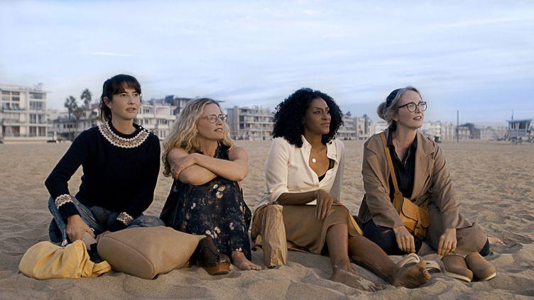 Julie Delpy (Justine), Alexia Landeau (Ella), Sarah Jones (Yasmin), Elisabeth Shue (Anne) (The Film TV Canal +)