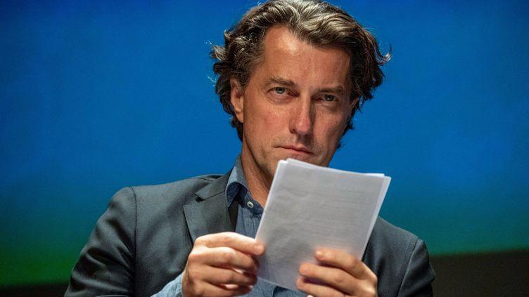 Dominique Boutonnat,président du Centre national du cinéma et de l'image animée (CNC), le 13 septembre 2019. (XAVIER LEOTY / AFP)