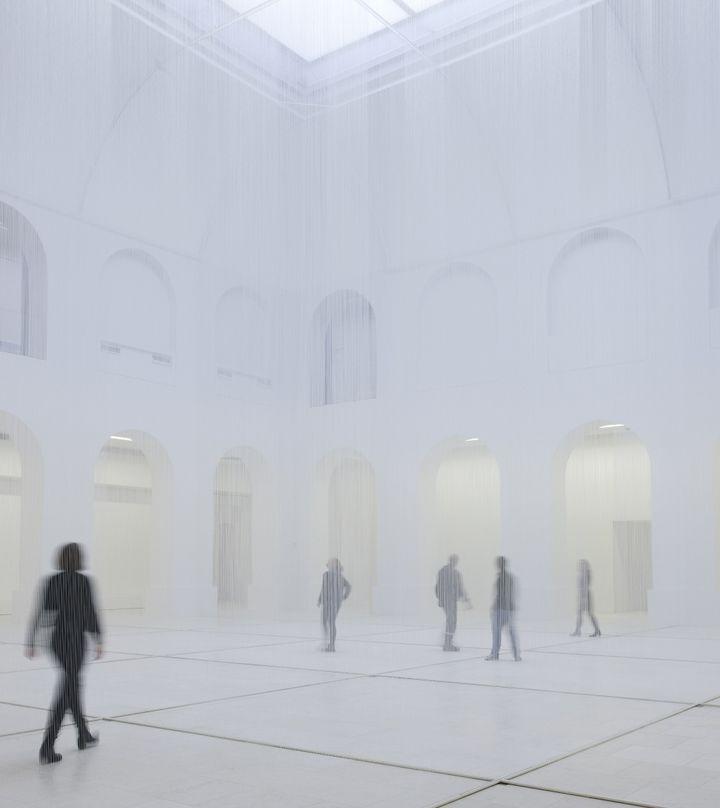 Susanna Fritscher,Für die Luft, 2017  (Susanna Fritscher / Musée d'arts de Nantes - Photographie Cécile Clos)