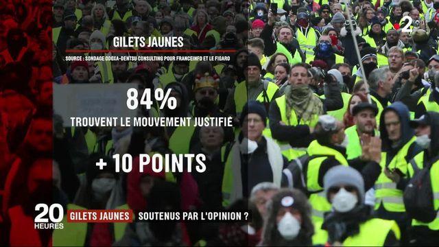 """""""Gilets jaunes"""" : les Français soutiennent le mouvement"""