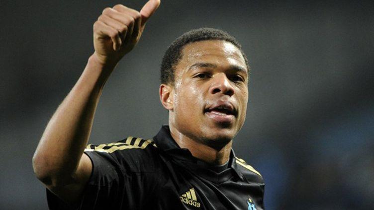 Marseille et Newcastle sont arrivés à un accord pour le transfert de Loïc Rémy chez les Magpies.  (ANNE-CHRISTINE POUJOULAT / AFP)