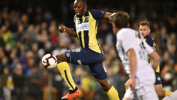 Usain Bolt (PETER PARKS / AFP)