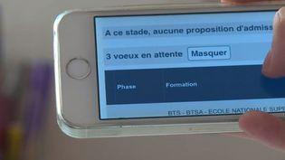 Un élève en attente de proposition sur Parcoursup (France 3)